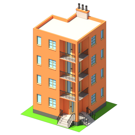 sgs lowpoly city pack